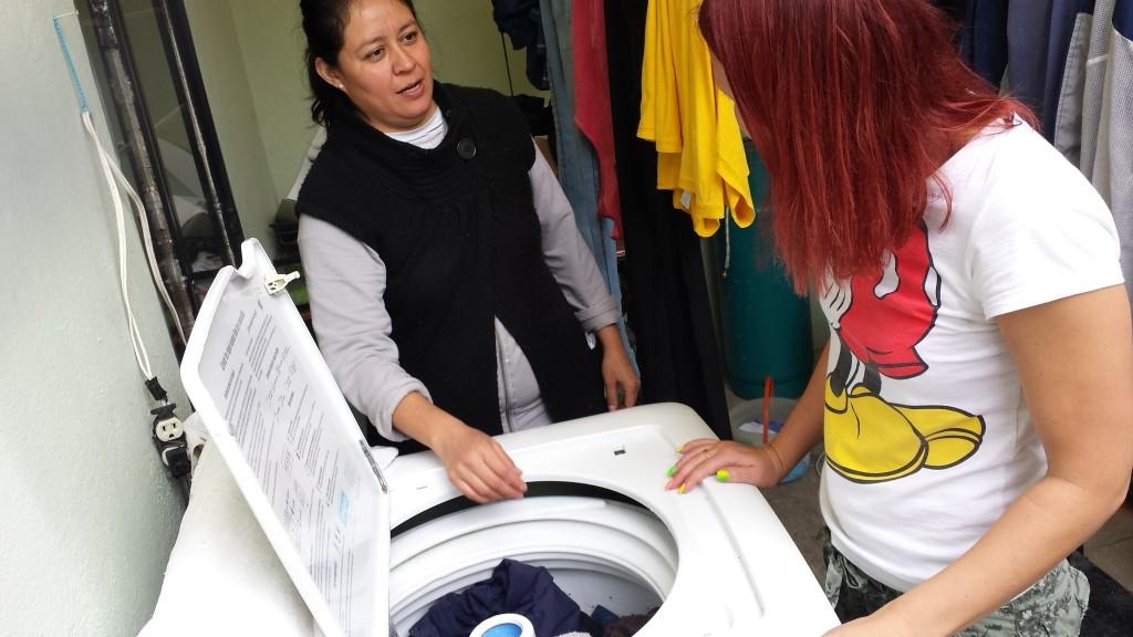 Meksikāņu veļas mašīnas apmācības